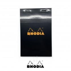 法國 RHODIA N°14 黑色上翻筆記本 110mmx170mm 方格內頁(142009C)