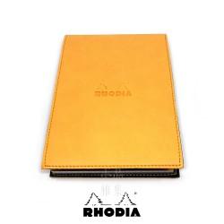 法國 RHODIA ePURE系列 橘色封套N°16上翻筆記本 方格內頁 附筆插 (118168C)