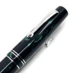 義大利 LEONARDO Momento Zero Green Marbled 綠色大理石 鋼筆