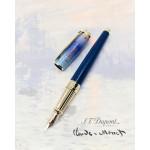 法國 S.T. DUPONT 都彭 Line D Plume L Monet 克勞德·莫內 Soleil Levant 印象·日出 限量 14K 鋼筆