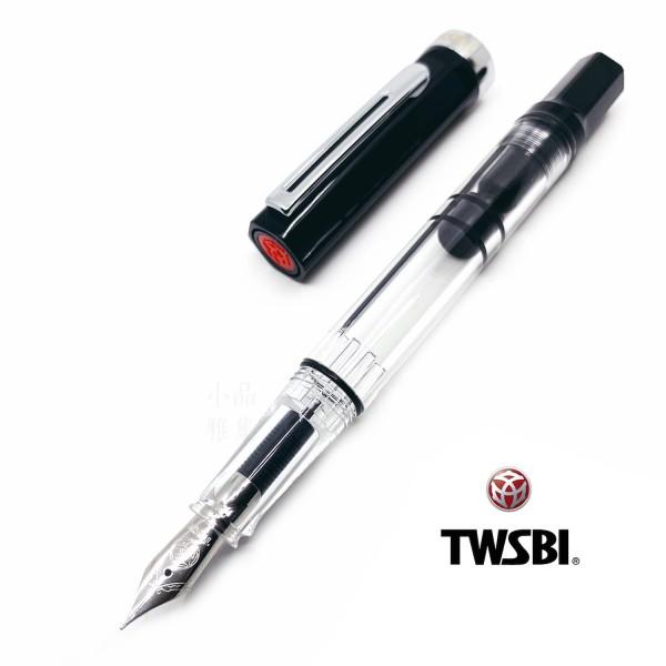 臺灣 TWSBI 三文堂 ECO 活塞鋼筆(黑色)