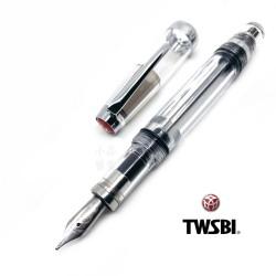 臺灣 TWSBI 三文堂 VAC mini 負壓上墨 鋼筆(全透明)