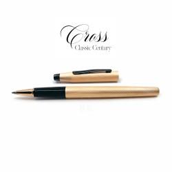 CROSS 高仕 Classic Century 新經典世紀 鋼珠筆(玫瑰金黑夾)