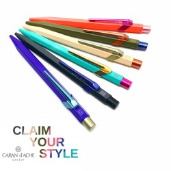 瑞士 卡達 Caran d'Ache 849 Claim Your Style 原子筆(六款可選)