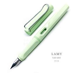 德國 Lamy Safari 狩獵系列 2019限定色 Pastel 夢幻泡泡馬卡龍 鋼筆(Mint 薄荷綠)