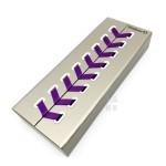 德國 Pelikan 百利金 M600 Violet-White 14K金 紫條鋼筆