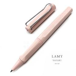 德國 Lamy Safari 狩獵系列 2019限定色 Pastel 夢幻泡泡馬卡龍 鋼珠筆(Rose 櫻花粉)