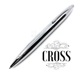 Cross 高仕 凱樂系列 亮鉻白夾 原子筆