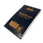 法國 RHODIA Bloc Pocket系列 黑色 上翻筆記本 點點內頁 (8559)
