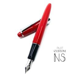 日本 Pilot 百樂 Custom NS 鋼筆(紅)