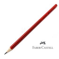 德國 Faber-Castell 輝柏 GRIP 2001鉛筆(紅色-B)