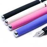 小品雅集 獨家訂製款 絲絨系列 特製書法尖 鋼筆(五色可選)