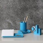 (預購商品)臺灣 二十二 22 Design Studio 解構膠帶檯(藍色水泥)