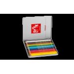 瑞士卡達 Caran d'Ache PABLO 專家級油性色鉛筆 (18色) 銀盒