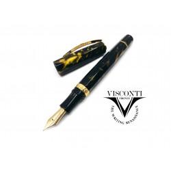 義大利 Visconti Medici 麥地奇家族 鋼筆(黑色金夾)