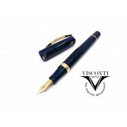 義大利 Visconti Medici 麥地奇家族 鋼筆(藍色金夾)