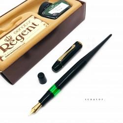 德國 西德時期製品 Senator Regent 活塞鋼筆 墨水組