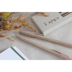 臺灣 SKB 文明鋼筆【SB-202】不用力生活 原子筆(一盒5支入)一代奶茶色