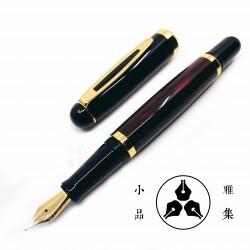 小品雅集 獨家訂製款 紅琺瑯烤漆 鋼筆