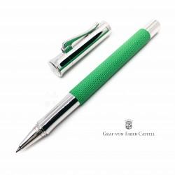 德國 Graf von Faber-Castell 繩紋飾 鋼珠筆(毒蛇綠)