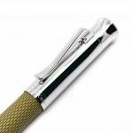 德國 Graf von Faber-Castell 繩紋飾 鋼珠筆(橄欖綠)