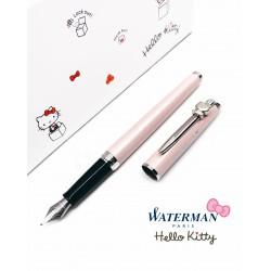 法國 Waterman 雋雅系列 × HELLO KITTY 45週年 聯名款 紀念鋼筆(粉紅色)
