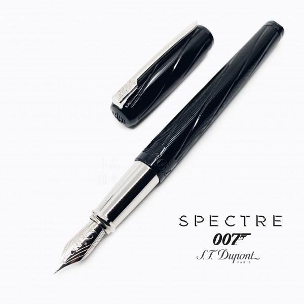 法國 S.T. DUPONT 都彭 AMES BOND 詹姆斯·邦德 007 18K金 鋼筆(黑色)