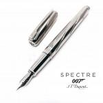 法國 S.T. DUPONT 都彭 AMES BOND 詹姆斯·邦德 007 18K金 鋼筆(銀色)
