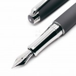 瑞士卡達Caran d'Ache Leman 利曼 18k金 鋼筆(晨霧灰)