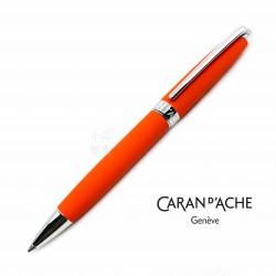 瑞士卡達Caran d'Ache Leman 利曼 原子筆(珊瑚紅)
