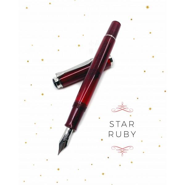 德國 Pelikan 百利金 Classic M205 2019 Star Ruby 星彩紅寶石 鋼筆