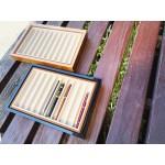 小品雅集 獨家訂製 鋼琴烤漆 10支入鋼筆收藏展示筆盤(兩色可選)