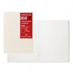 日本 MIDORI TRAVELER'S notebook PA SIZE#008 圖畫紙