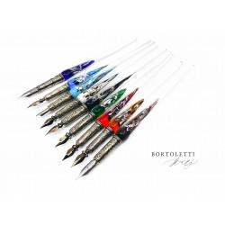 義大利 Bortoletti set20 沾水筆+墨水+筆尖組合(共九色可選)