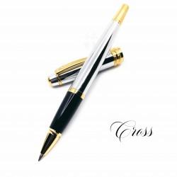 CROSS 高仕 Bailey 貝禮 亮鉻金夾 鋼珠筆