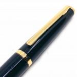 德國 OTTO HUTT 奧托赫特 時尚絨 | Design06 麗黑金夾 鋼珠筆