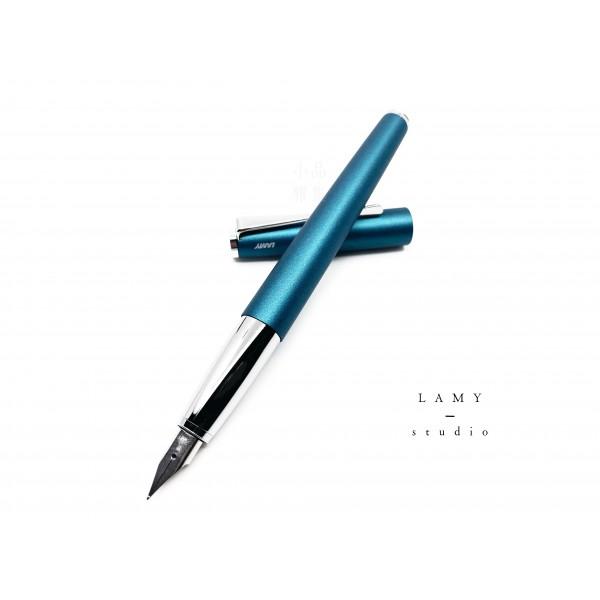 德國 Lamy Studio系列 2019限定色 66 aquamarine 海洋寶石藍 鋼筆