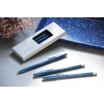 臺灣 SKB 文明鋼筆【SB-202】不用力生活 原子筆(一盒5支入)二代礦灰藍