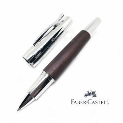 德國 Faber-Castell 輝柏 E-Motion系列 梨木桿 深褐色 鋼珠筆(148215)
