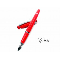 CROSS 高仕 Bailey Light 貝禮輕盈系列 鋼筆(珊瑚紅色)