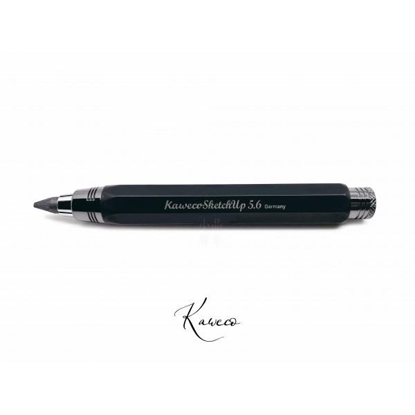 德國 Kaweco sketch up 金屬款 5.6mm 草圖速繪鉛筆(全黑色)