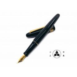 小品雅集 獨家訂製款 古典烤漆 鋼筆(特製書法尖)(古典黑)