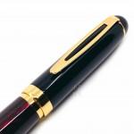 小品雅集 獨家訂製款 紅琺瑯烤漆 鋼筆(特製書法尖)