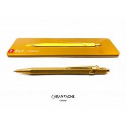 瑞士卡達 Caran d'Ache 849 聖誕限定 Sparkle 閃亮金色 原子筆