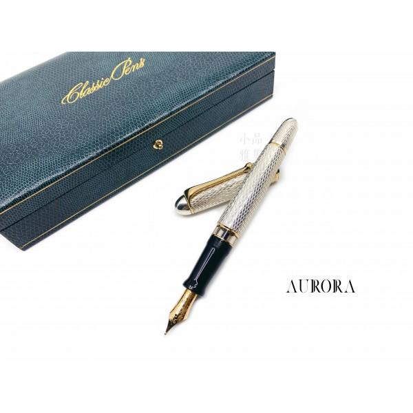 =庫存新品= 老筆 義大利 AURORA 88 CP3 Homer Iliad 伊利亞德 925純銀 限量500支 18K 鋼筆