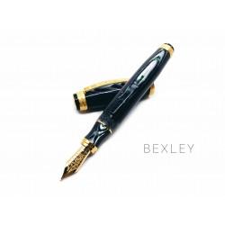 美國 Bexley Golden Age 黃金時代 限量150支 18K 鋼筆(Waves 波浪)