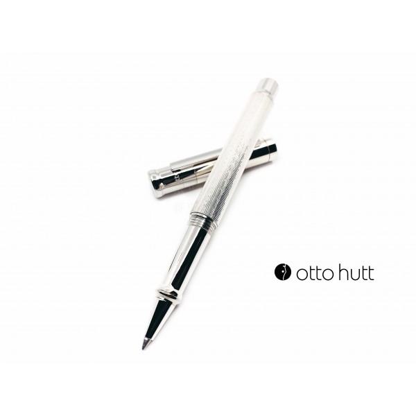 德國 OTTO HUTT 奧托赫特 精工藝 | Design04 鑽石方切 925純銀 鋼珠筆