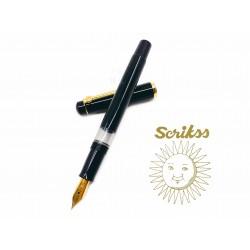 土耳其 Scrikss 419 活塞鋼筆(黑色)
