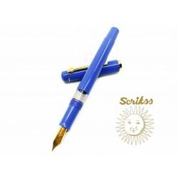 土耳其 Scrikss 419 活塞鋼筆(藍色)