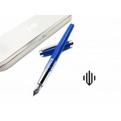 臺灣 IWI 蒙恬 Safari遊獵系列鋼筆(藍色:藍鯨圖紋)